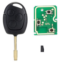 4D60 Remote Key Shell Cover 433MHz Chip Car Key For FORD Focus Fiesta Mondeo C MAX