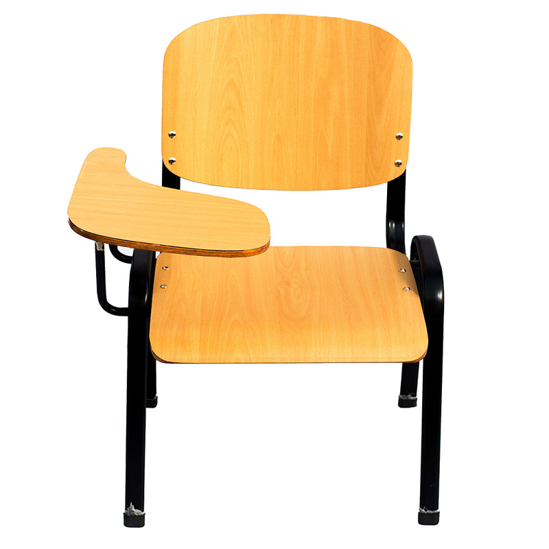 High Quality Simple Modern Office Chair With Writing Board Portable Training Meeting Chair Leisure Student Classroom Study Chair