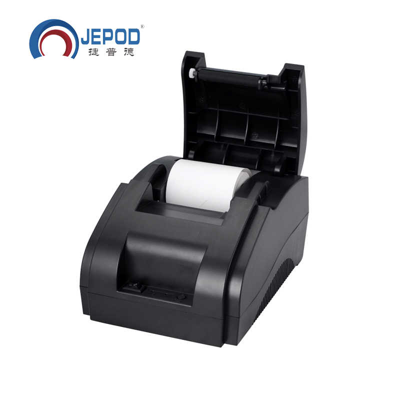 XP-58IIH Hitam Direct Thermal USB Port Printer Thermal, 58 Mm Printer Thermal Receipt Printer Tiket 58 Mm