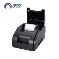 Black Direct Thermal USB Port Thermal Printer 58mm Thermal Printer Receipt Ticket Printer 58mm XP 58IIH