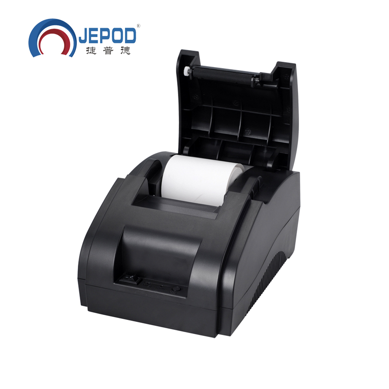 XP-58IIH zwarte directe thermische USB-poort thermische printer, 58 mm thermische printer bonbonprinter 58 mm