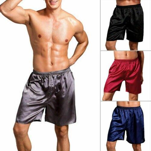 Men Women Silk Satin Pajama Kimono Bath Robe Gown Loungewear Sleepwear Men's Comfortable Shorts Pajama Pants