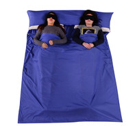 Splicing Envelope Sleeping Bag Liner Cotton Ultralight Portable Outdoor Camping Hiking Travel Summer Sleeping Bag