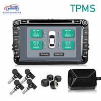 USB Android TPMS tire pressure monitor/Android navigation tire pressure monitoring alarm system/wireless transmission TPMS