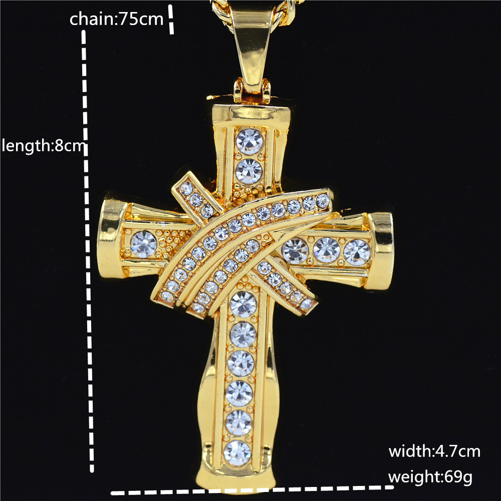 Detail Feedback Questions about New Hip Hop Full Rhinestone Crystal ... 86d1359564b6