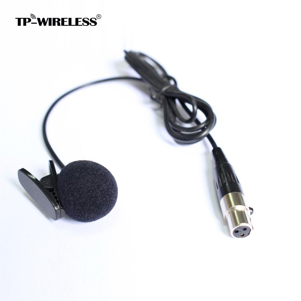 TP-Wireless Top Quality Cardioid Lapel Tie Clip-on Lavalier - Audio y video portátil