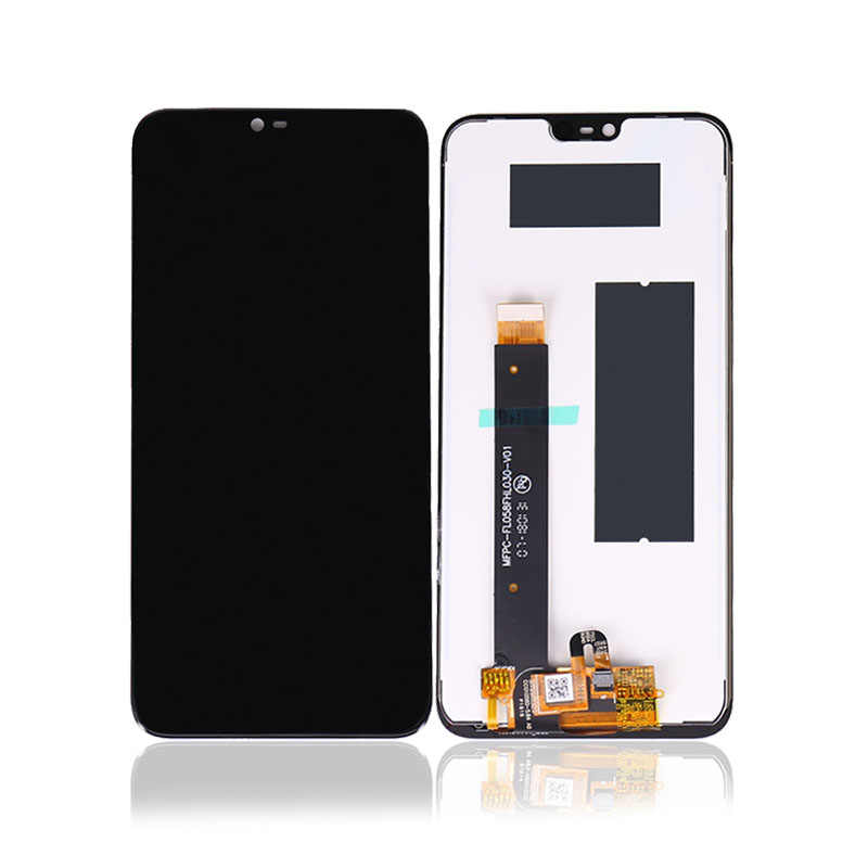 Para Nokia X6 2018 pantalla táctil digitalizador montaje para Nokia 6,1 Plus LCD Panel negro Nuevo Teléfono Móvil envío gratis