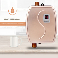 Instant Electric Water Heater Hot Water Faucet kitchen Rapid Heating Thermostat Household Hot and Cold Dual use 220V