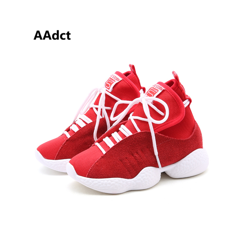 b2d9584dda6df AAdct 2018 Thick bottom comfortable running children shoes Non-slip Casual  sports shoes for Girls Boys Sneakers kids shoes