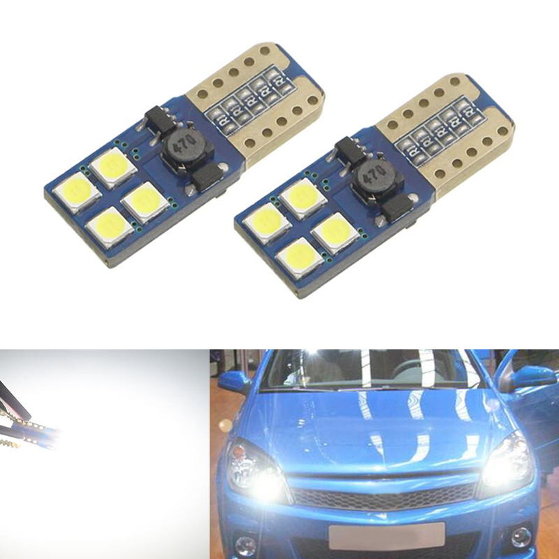 2x Canbus T10 W5W 168 194 LED Clearance Parking Lights For Opel Astra h j g Corsa Zafira Insignia Vectra b c d