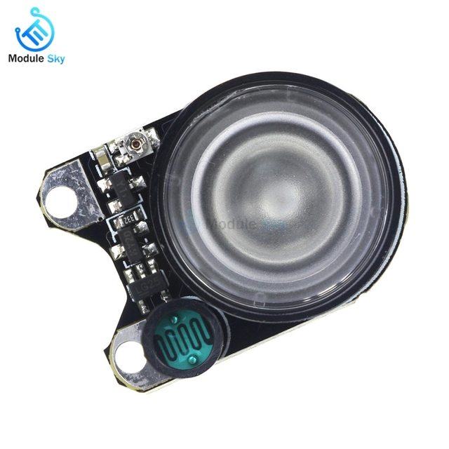 US $1 88 9% OFF 2pcs Mini Infrared LED Light 3W 850 Raspberry Pi Camera  Board Module Night Vision Infrared IR-in Replacement Parts & Accessories  from