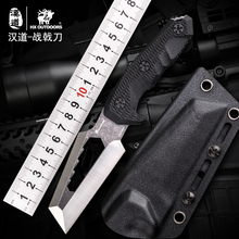 HX OUTDOORS Multifunction 7Cr17Mov Fixed Blade Knife G10 Handle Survival Outdoor Hunting Knives Rescue Gear knife With K Sheath цены онлайн
