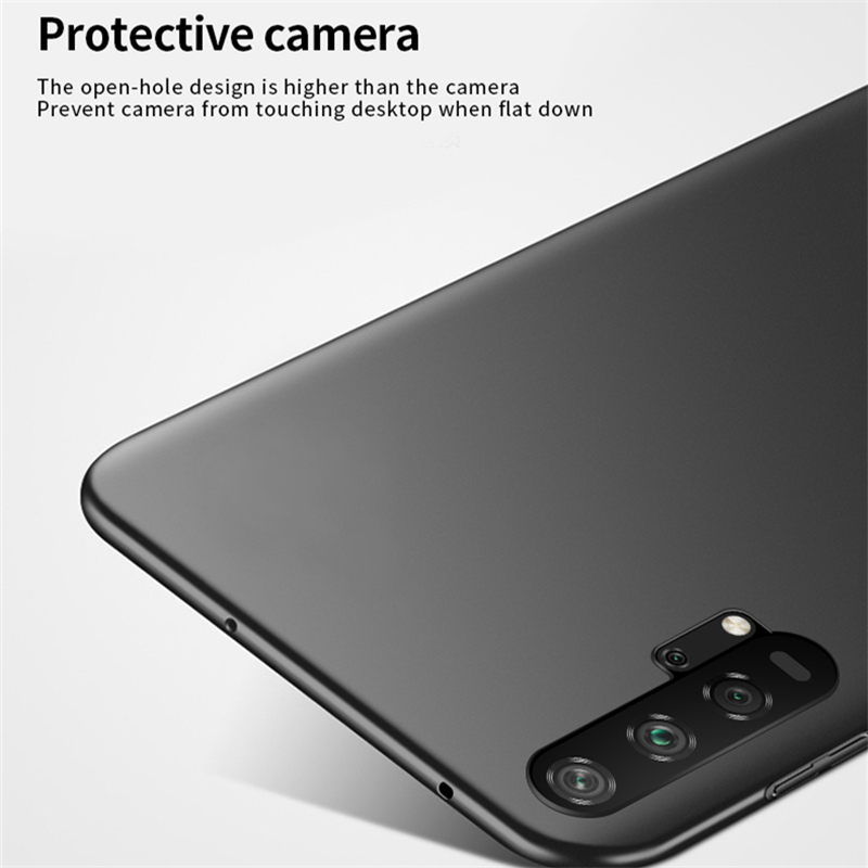 For Cover Huawei Honor 20 Pro Case Ultra Thin PC Slip Protective Hard Case For Huawei Honor 20 Pro Cover For Honor 20 Pro Case in Half wrapped Cases from Cellphones Telecommunications