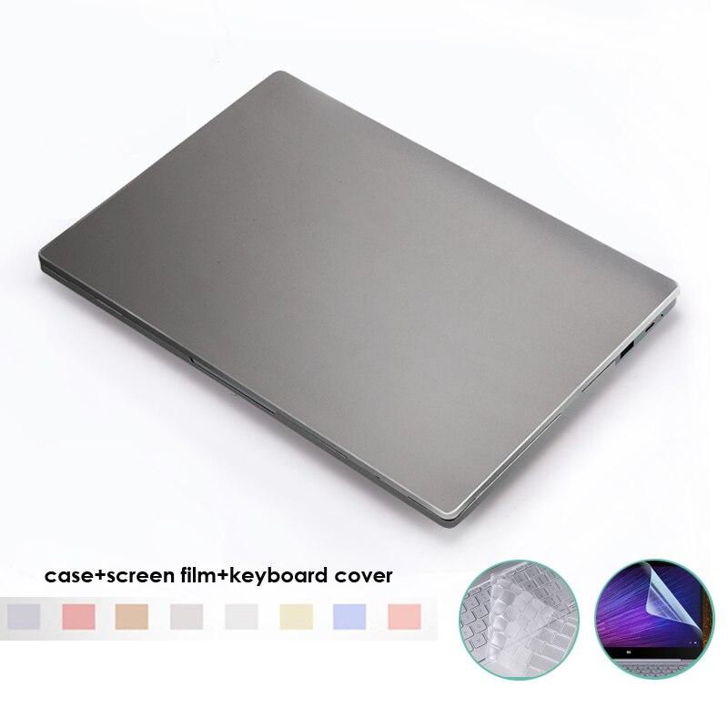 Cas pour Xiaomi Air 12 13 pouce Dur PC Portable De Protection Shell pour funda Xiaomi Mi Air 12.5 13.3 Capa Para + Film + Couvercle Du Clavier