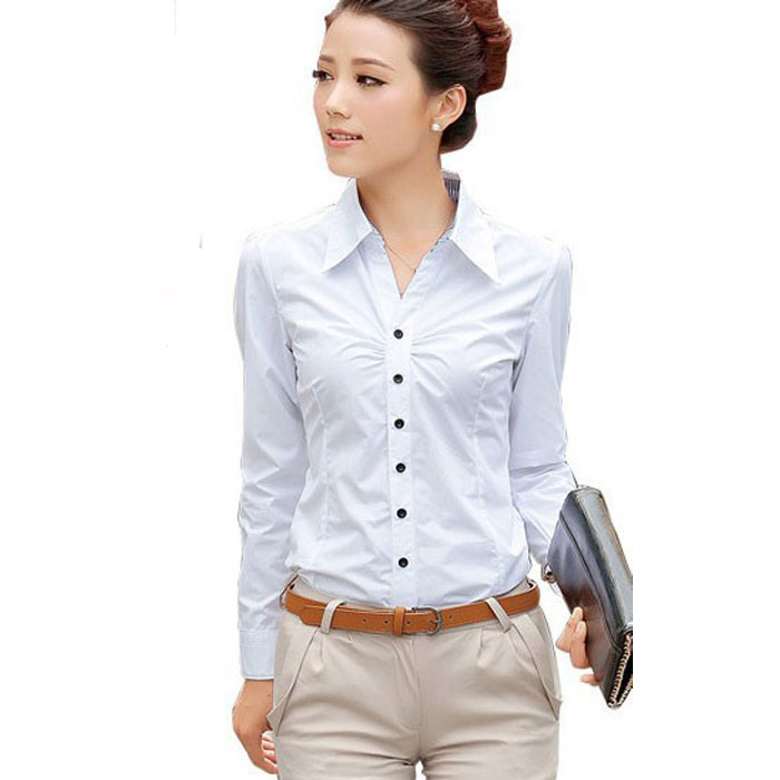 2015 new Female slim shirt women s polo shirts c9406da7a