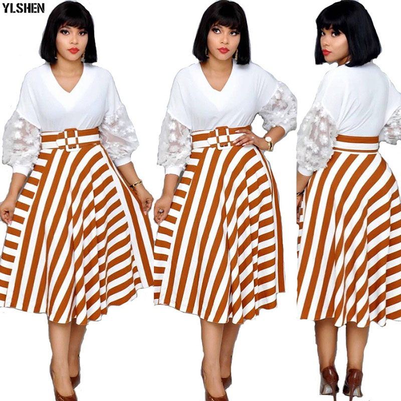 New Style African Dresses For Women Dashiki Ankara African Clothes Bazin Riche Boubou Africain Sexy Africa Dress Woman Clothing