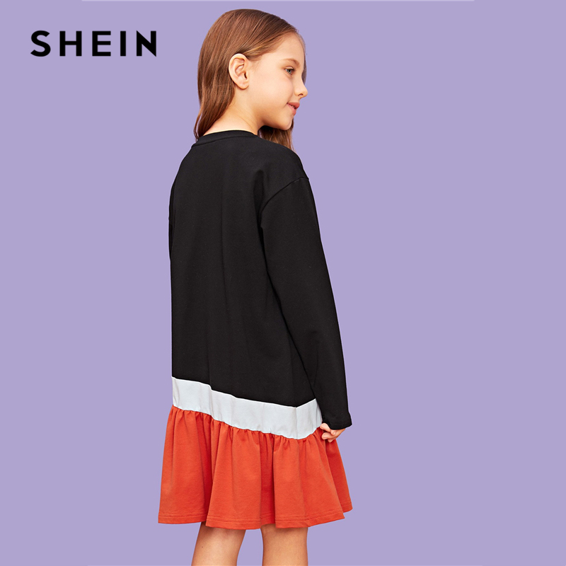 Shein Kiddie Cut Party Girls Dress Shein Young Girls Collection
