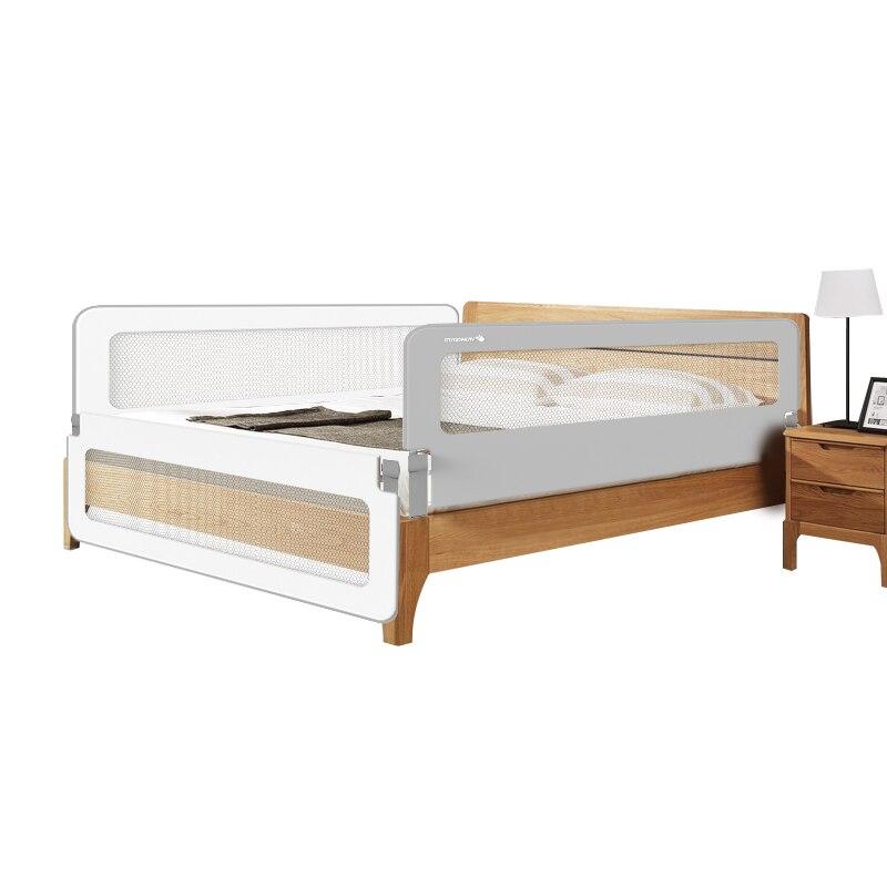 Barrière de lit pour enfants garde-corps bébé incassable cloison de chevet universelle 1.2-2 m clôture de lit