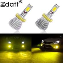 2Pcs 3000K H11 Led Bulb Fog Light Yellow Fog Led Bulb font b Lamp b font
