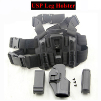 HK USP Tactical Compact Gun Holster Military Airsoft Leg Holster Shooting Hunting Accessories Right Handed Pistol