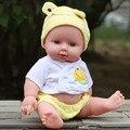Nueva Silicona renacer muñecas BJD muñeca renacer muñeca de silicona muñecas reborn bebés Peluches bebé de juguete juguetes educativos de la niñez