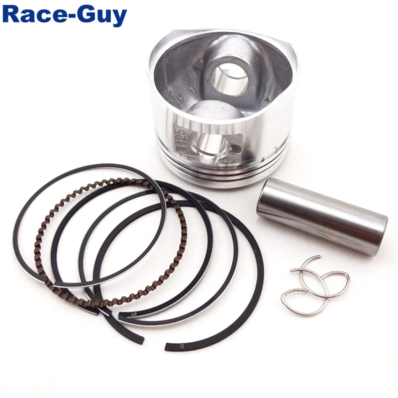 52mm 14mm Piston Pin Ring Set Kit For Chinese Lifan 125cc Engine 4 Wheeler  Motorcycle Pit Dirt Trail Motor Bike ATV Quad-in Pistons & Rings from