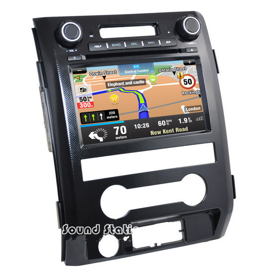 F150 Multimedia DVD GPS Para Ford F150 2009 2012 Coche DVD