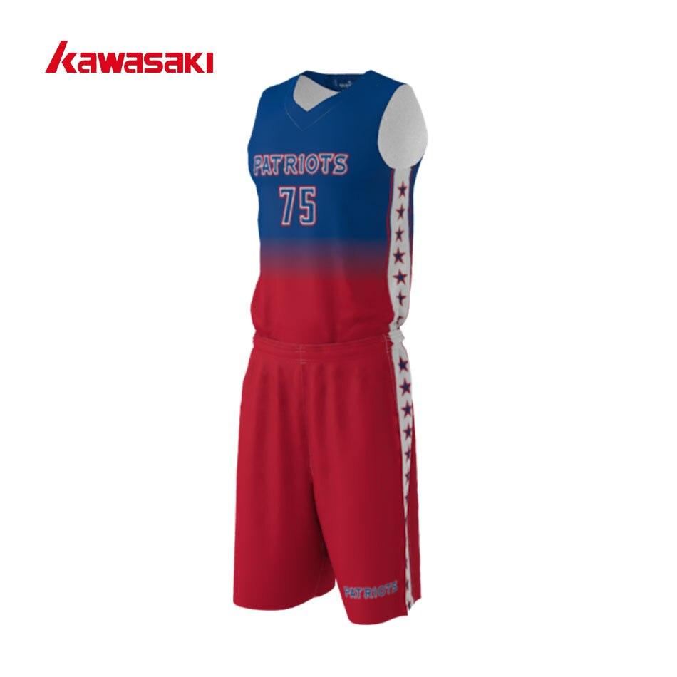 Brand Kawasaki Original Mens & Women Basketball Top sets Custom Quick Dry Breathable Practice Custom Kids Sports Uniforms zildjian 14 k custom special dry fx hat top
