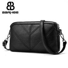 BARHEE 2017 High Quality Leather Women Handbag Luxury Messenger Bag Soft pu Leather Fashion Ladies Crossbody Bags Female Bolsas