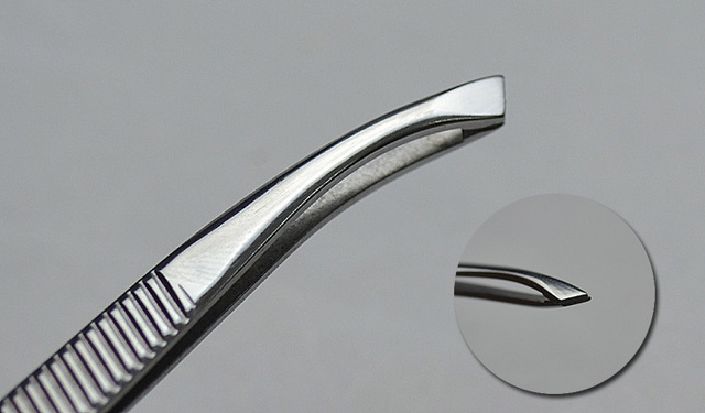 Tweezers For Female Makeup Beauty Forcep Stainless Steel Clamp Pliers Plucking Eyebrow Tweezer Pulling Elbow Mustache Tool