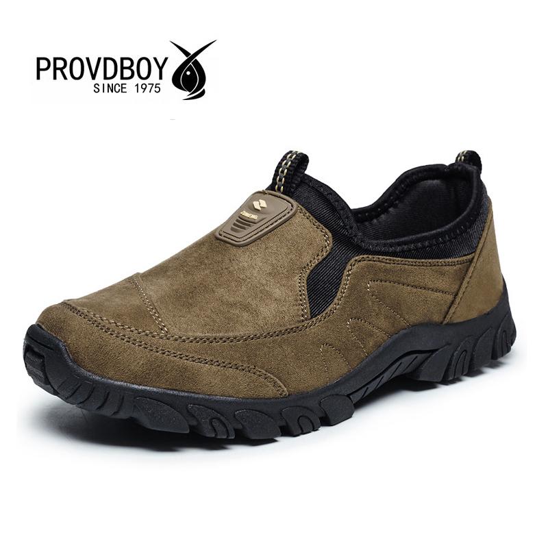 Prix pour 2017 nouveau automne hiver sport en plein air chaussures hommes slip-on randonnée camping sneakers trekking trekking confortable respirant homme chaussures