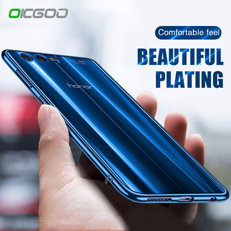 OICGOO Slim Phone Case For Honor 9 Lite Huawei P10 Plus Luxury TPU Silicone Soft Cover Case For Honor 9 Huawei P10 Lite P10 Case