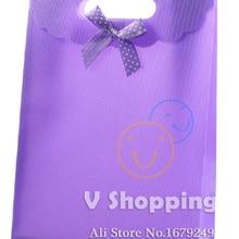 31,5x24x12 см прочного пластика PP сумка лук флип небольшие подарочные упаковки мешок руки свадьба праздник рождественский мешок конфет box 100 шт./лот
