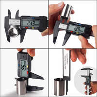 6inch 150 mm Digital Vernier Caliper LCD Display Micrometer Guage Widescreen Electronic Accurately Measuring Instrument