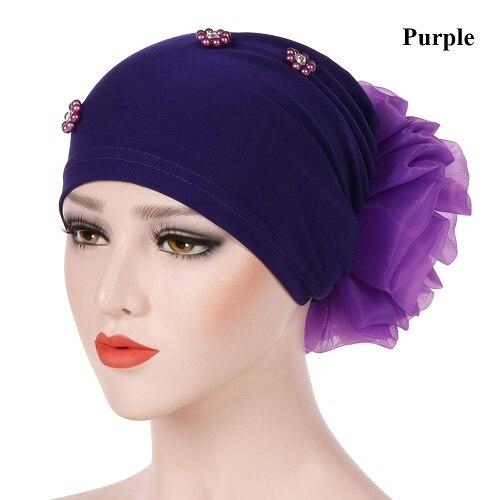 purple Hijabs