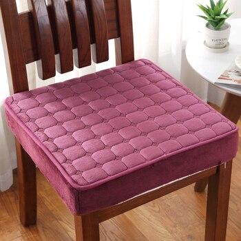 Tessuto Schiumato   Sfoderabile E Lavabile Sedia Cuscino Cuscino Super Soft Cuscino Del Sedile Sedia Studente Cuscini Stile Moderno 50*60cm Sedile Pad Complementi Arredo Casa