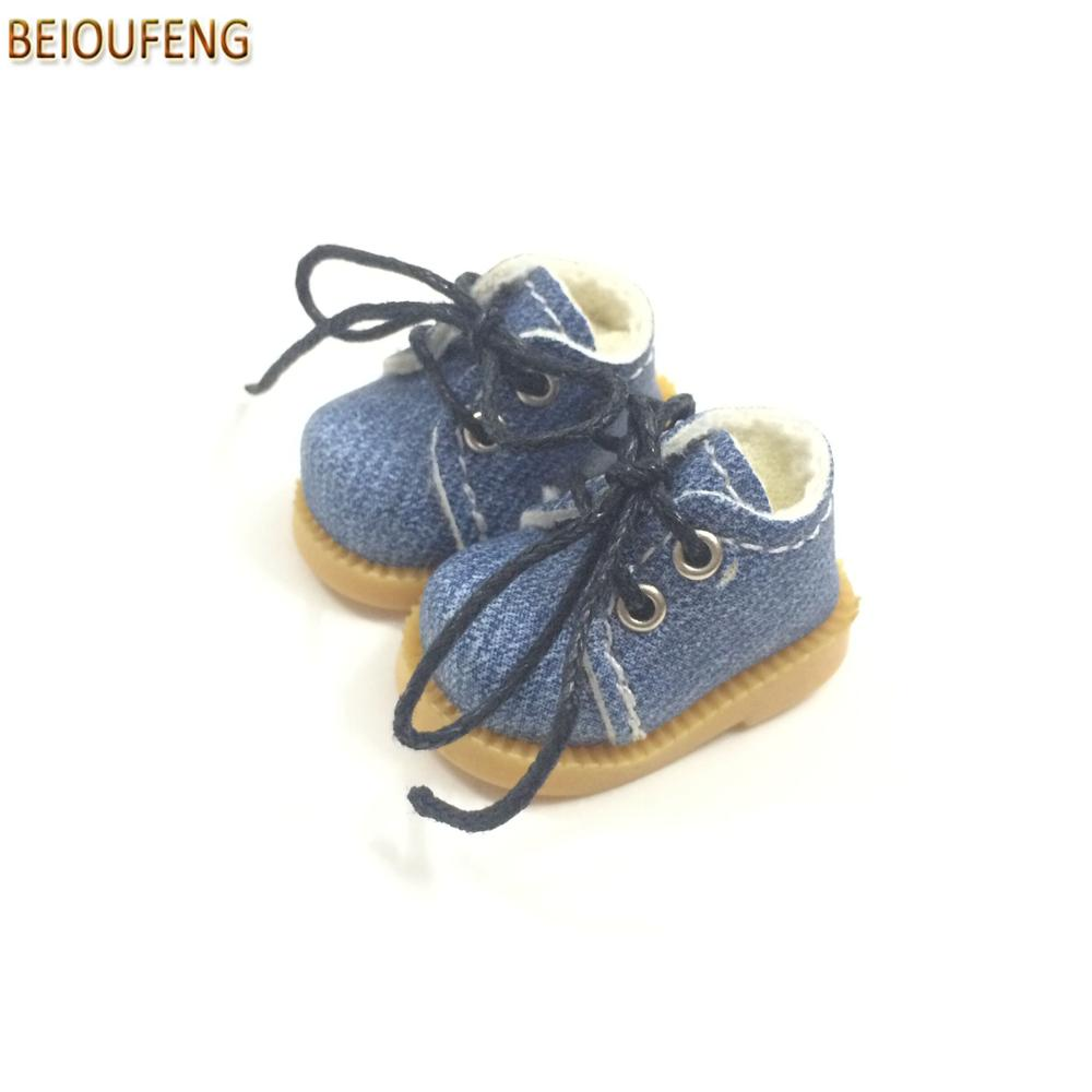 BEIOUFENG Sneakers Shoes for Dolls 3.8cm Mini Toy Boots para Blythe - Muñecas y peluches - foto 6