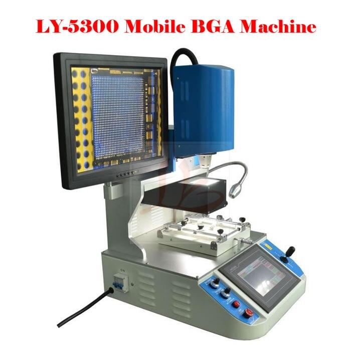 2017 station de reprise Mobile automatique de BGA de chauffage à trois températures LY 5300 Station de BGA avec le système d'alignement optique