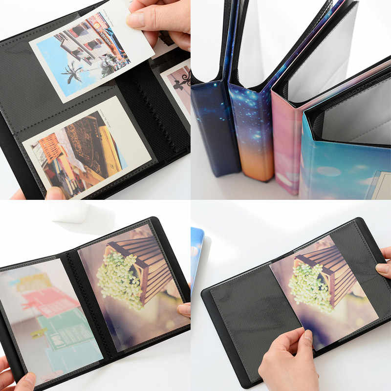2019 Hot 1 Pcs Photo Book Album 64 Pockets 3 Inch Storage Name Card Holder for Instax Mini MAL999