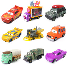 Disney Pixar Cars 3 2 Scarce Limited Edition Model Rocket Lightning McQueen Camouflage Military Vehicle Metal Diecast Car Toys(China)