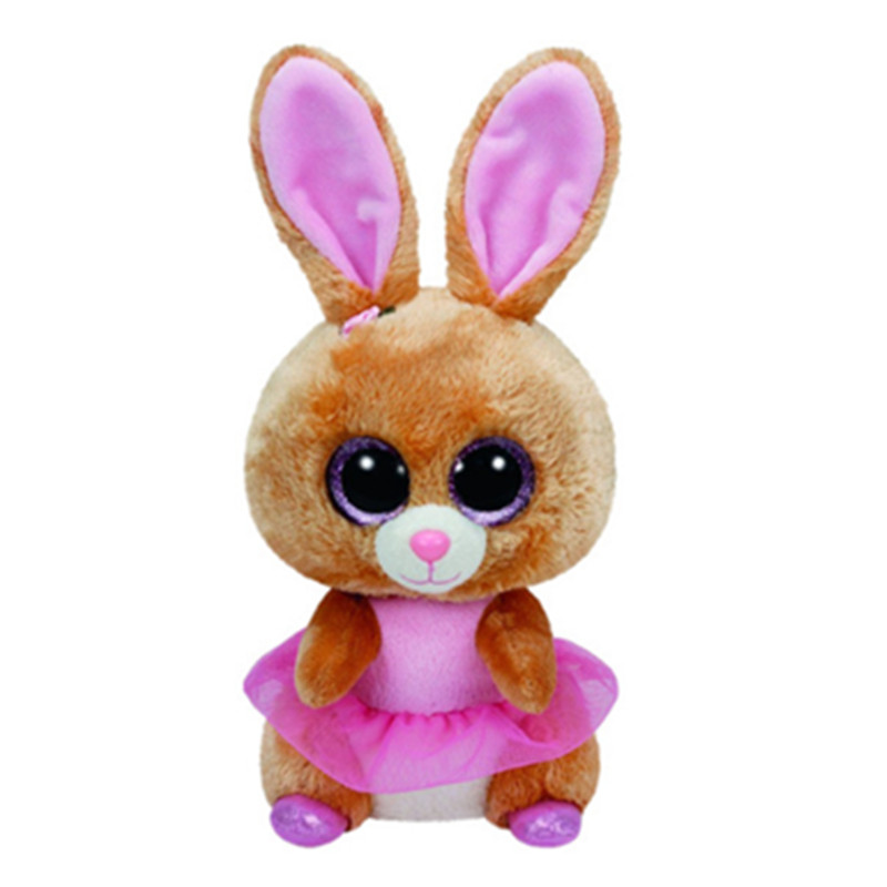 ea2fbd2aaec Ty Beanie Boos Easter Rabbit Bunny Bloom Lollipop Twinkle Toes Cute Plush  Stuffed Animal Big Eyes Kids Toys for Children-in Stuffed   Plush Animals  from ...