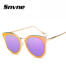 Snvne gafas de Sol ojo de gato gafas de sol para mujeres de los hombres de la Marca de moda Personalizada diseño feminino oculos gafas de sol hombre KK566