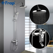 Bathtub Faucets Taps Shower-Head Waterfall Wall-Mixer Frap Torneiraf2418