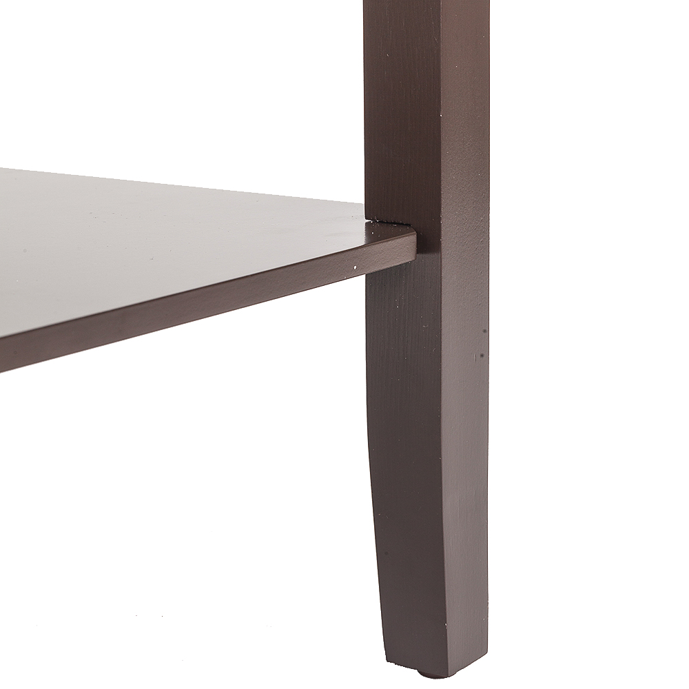 Coffee Side Table With Double Layer High Footed Zt025 Coffee In