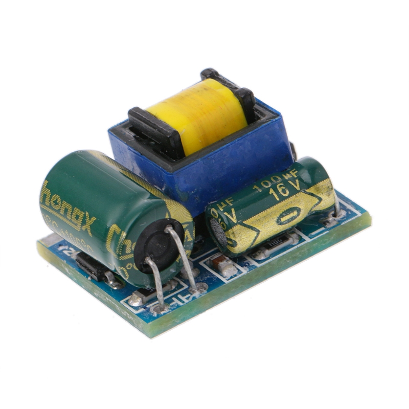 OOTDTY AC-DC 220V To 5V 600mA 3W Step-down Buck Power Supply Module Isolated Switching
