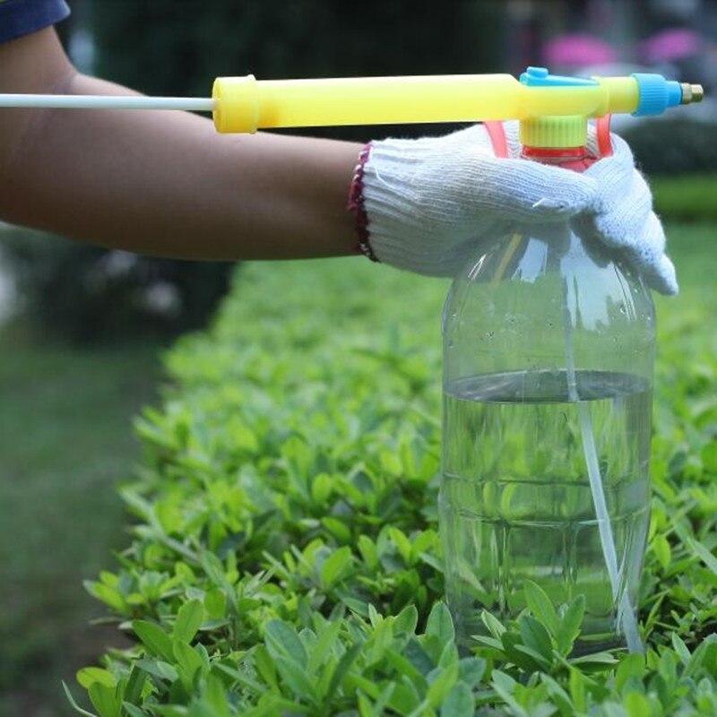 1 Pz Bottiglia Di Coca Cola Interfaccia Di Plastica Trolley Ugello Della Pistola A Spruzzo Manuale Irrigazione Testa Opzionale 360-gradi Ugello