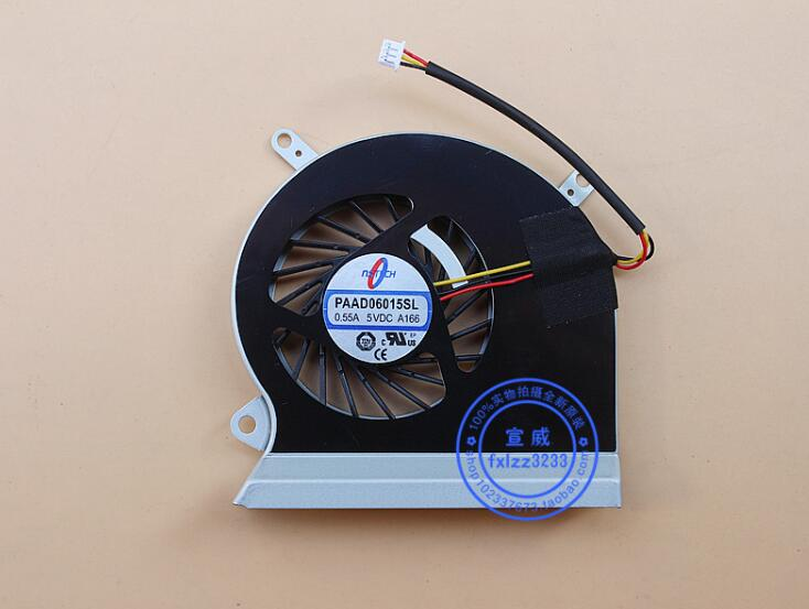 Emacro pour PAAD06015SL A166 DC 5 V 0.55A ventilateur sans cadre serveur 3 fils