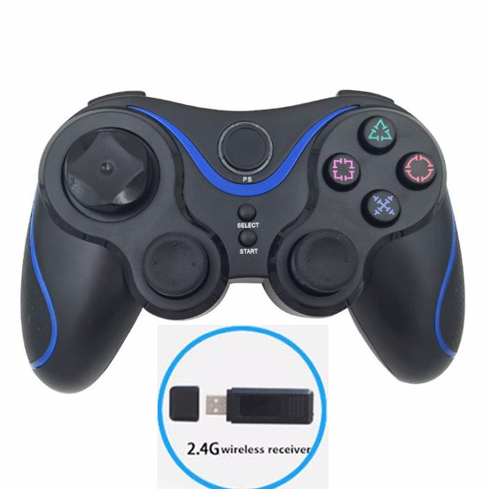 2.4G wireless gamepad for ps3 controller wireless dualshock joypad for playstation 3 gaming controller for pc windows joystick