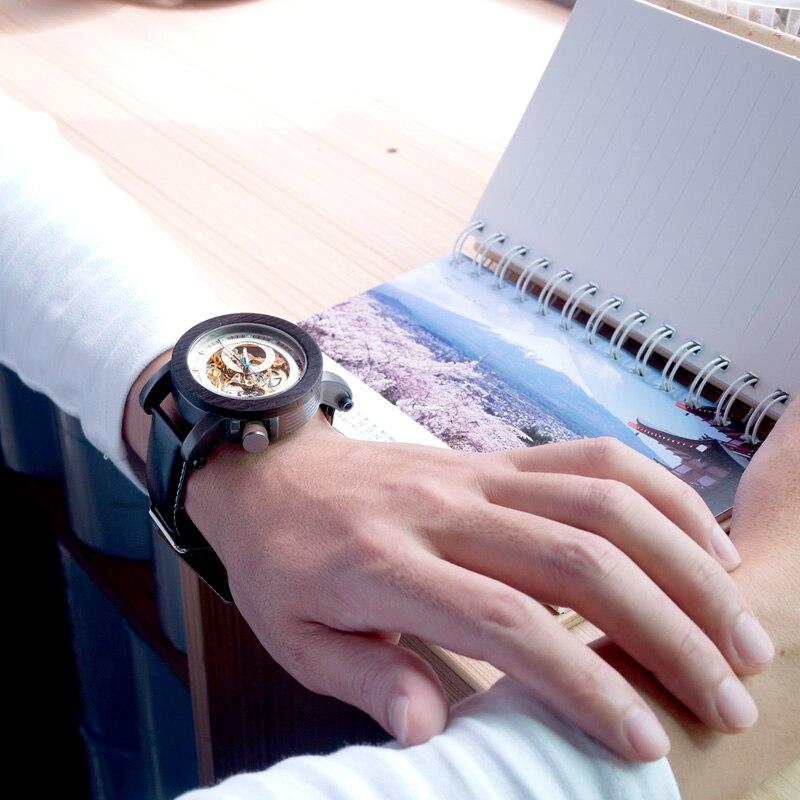 BOBO BIRD Πολυτελή μάρκα ανδρών μηχανική - Ανδρικά ρολόγια - Φωτογραφία 6
