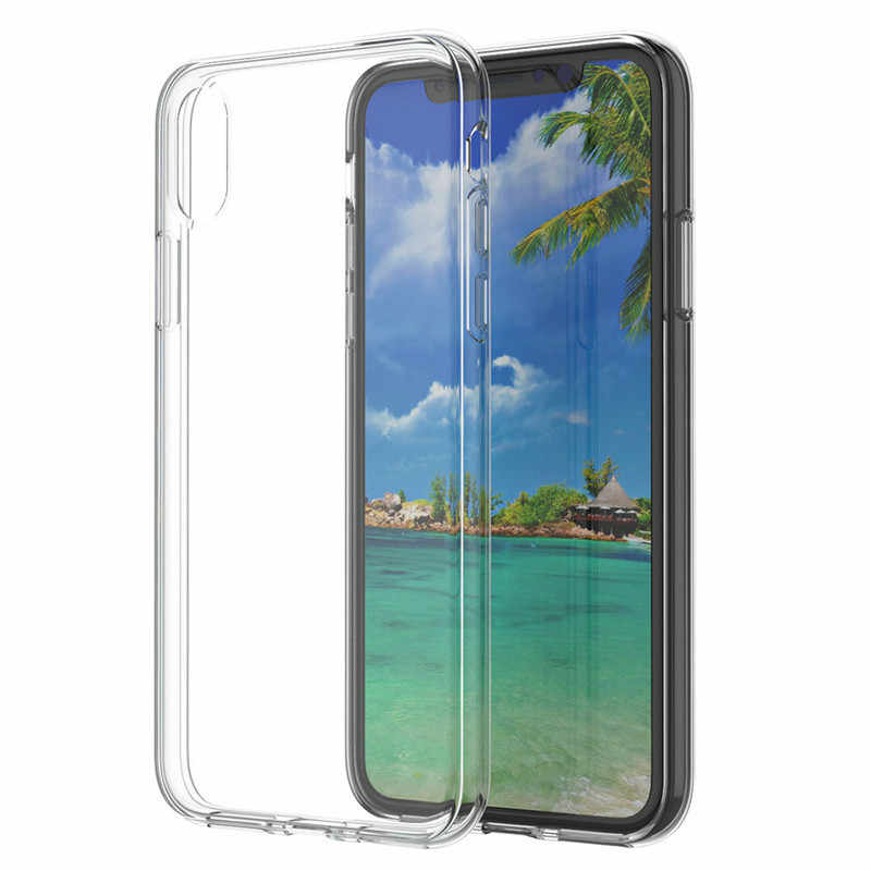 1pcs Ultra Thin Soft TPU shell mobile phone case Applicable to iphone xr protective cover transparent soft shell